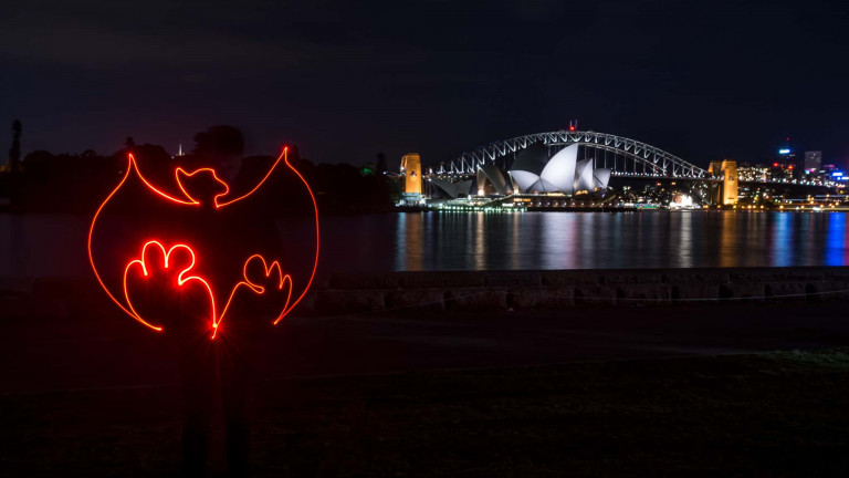 Bacardi Bat Lightpainting-1