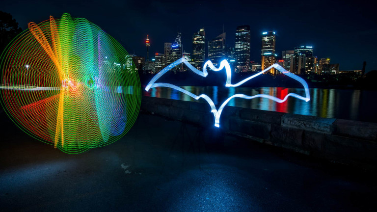 Bacardi Bat Lightpainting-7