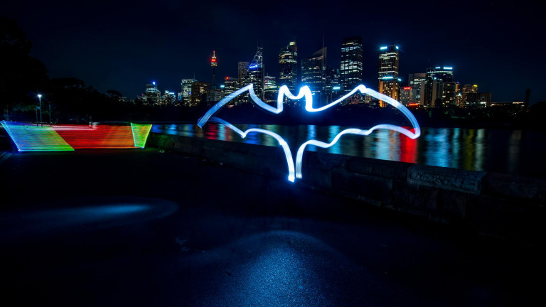 Bacardi Bat Lightpainting-5