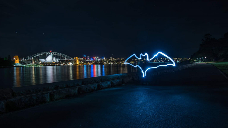 Bacardi Bat Lightpainting-3