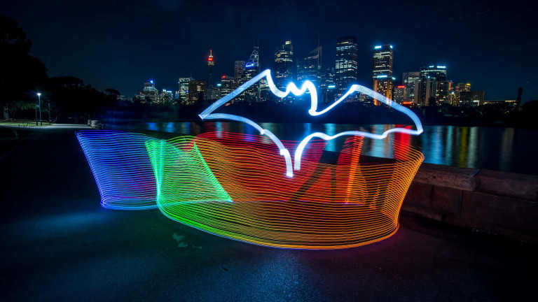Bacardi Bat Lightpainting-6